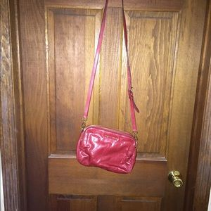 Michael Kors medium Alexis bag dark red